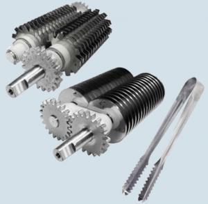 Cortador de tiras de acero y no patentado
